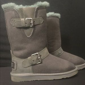 Australia Luxe Collective Machina Gray Boots